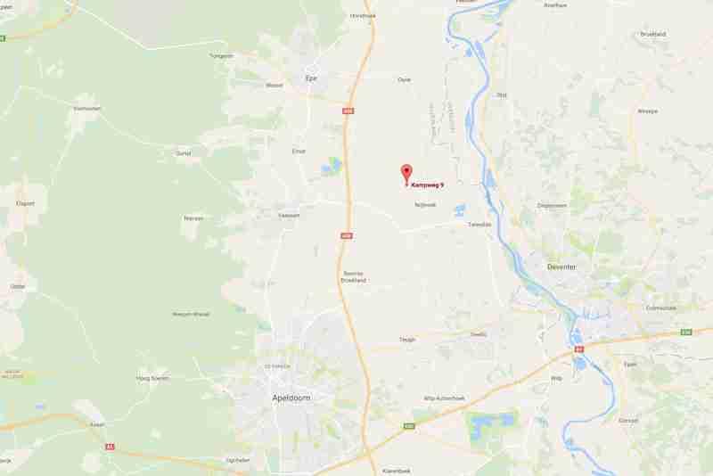 Maps locatie BK Tuinen