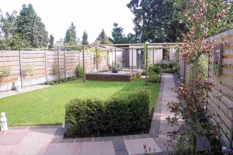 Tuinontwerp deventer hovenier in apeldoorn bk tuinen for Tuinontwerp door studenten