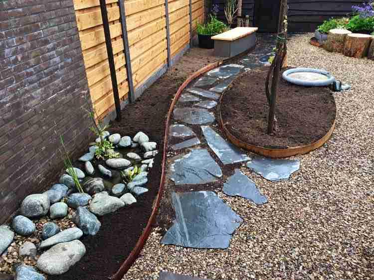 Vandaag hebben wij deze tuin (zo goed als) afgerond.