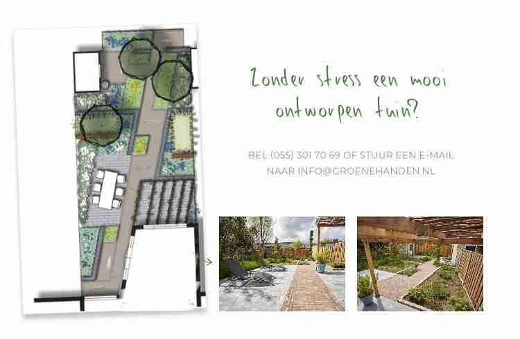TUINONTWERP  Ook interesse in een nieuwe tuin of een tuin die aan renovatie toe is? Kijk dan gerust op www.groenehanden.nl voor inspiratie! . . . #tui