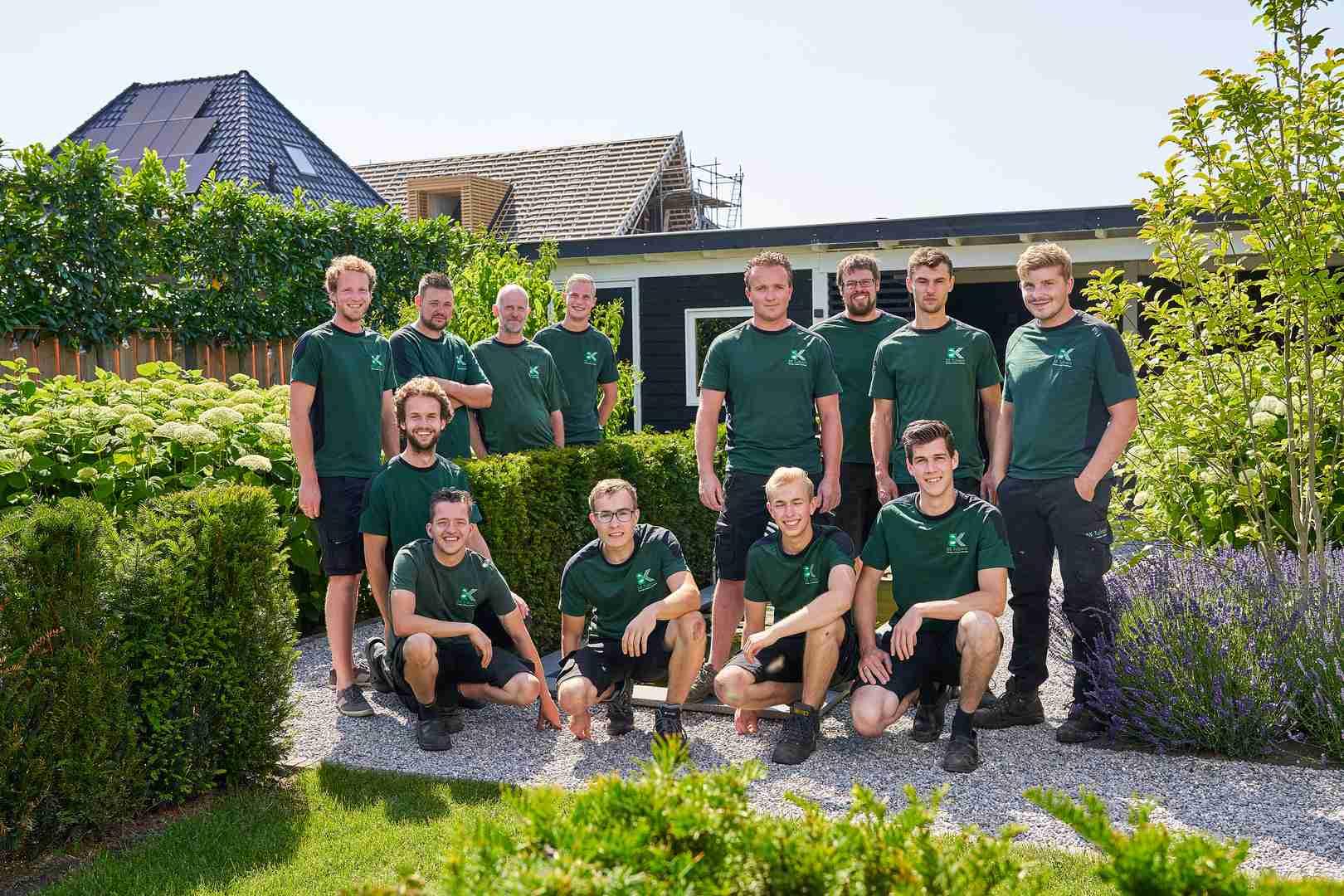 het team van BK Groene Handen